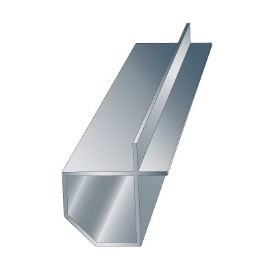 2″ cut corner profile