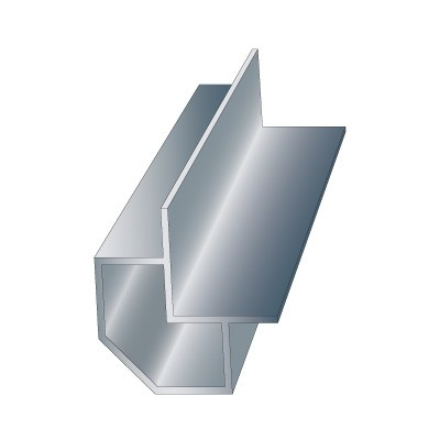 1″ cut corner Profile
