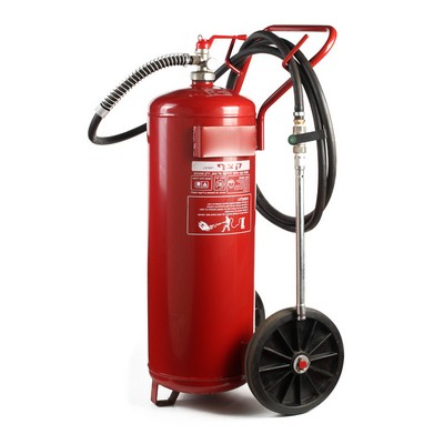 Portable Fire Extinguisher with Powder
