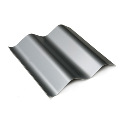 Painted Corrugated Panel - RAL 9006