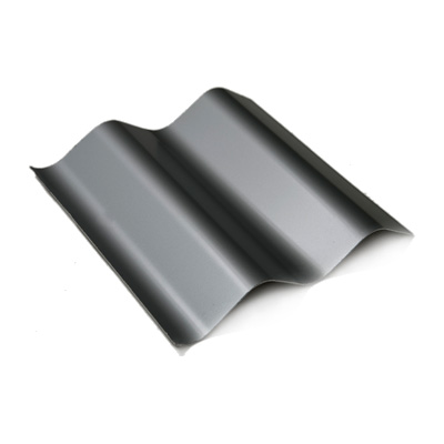 Painted Corrugated Panel - RAL 9007