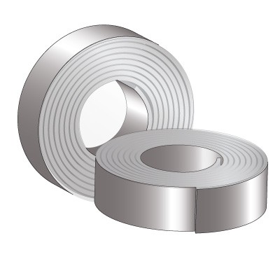 PVC Coated Galvanized Strip